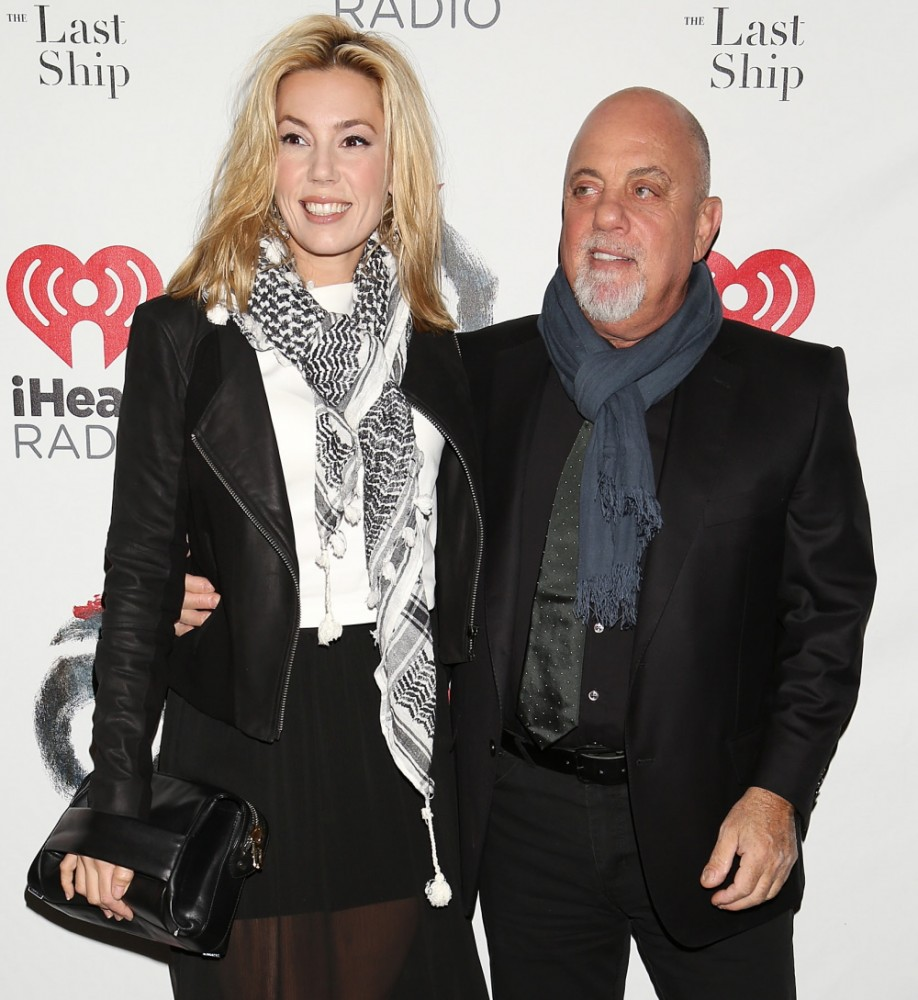 Opening night of Broadway's 'The Last Ship' at the Neil Simon Theatre - Arrivals Featuring: Alexis Roderick,Billy Joel Where: New York, New York, United States When: 26 Oct 2014 Credit: Joseph Marzullo/WENN.com
